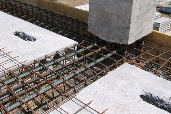 Как сделать ригель из бетона
